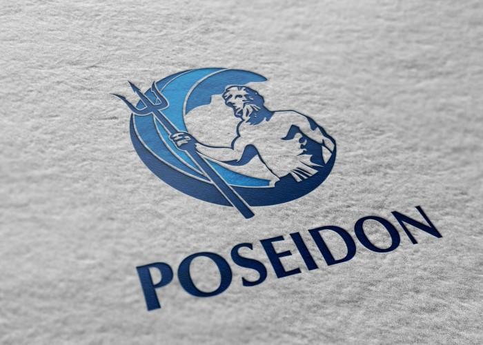 Poseidon logo design. designed by mogustudio ~ logo design logo ...